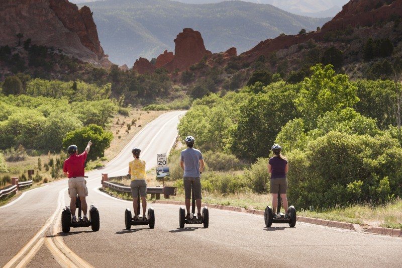 Things to do in Colorado Springs | Garden of the Gods Segway