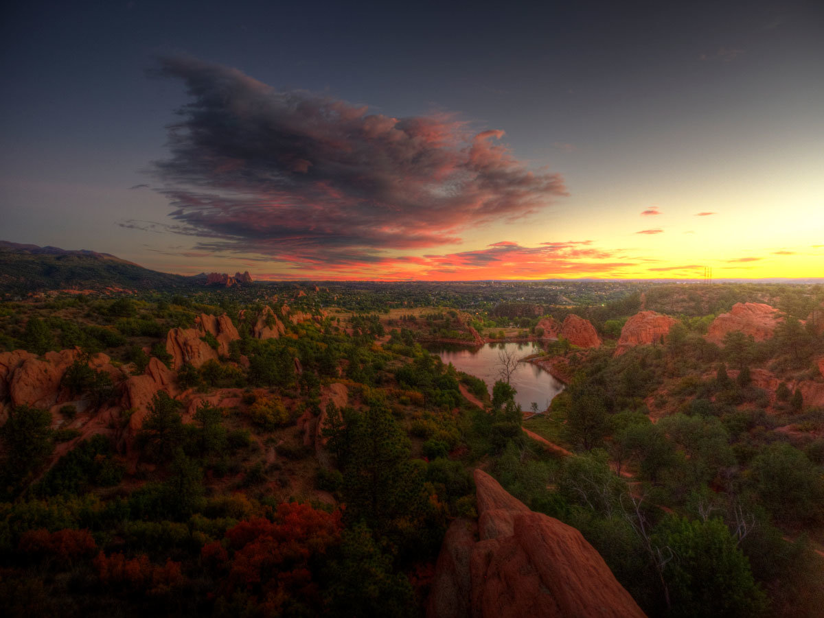 Colorado Springs Red Rocks Canyon Open Space | Colorado Springs Homes