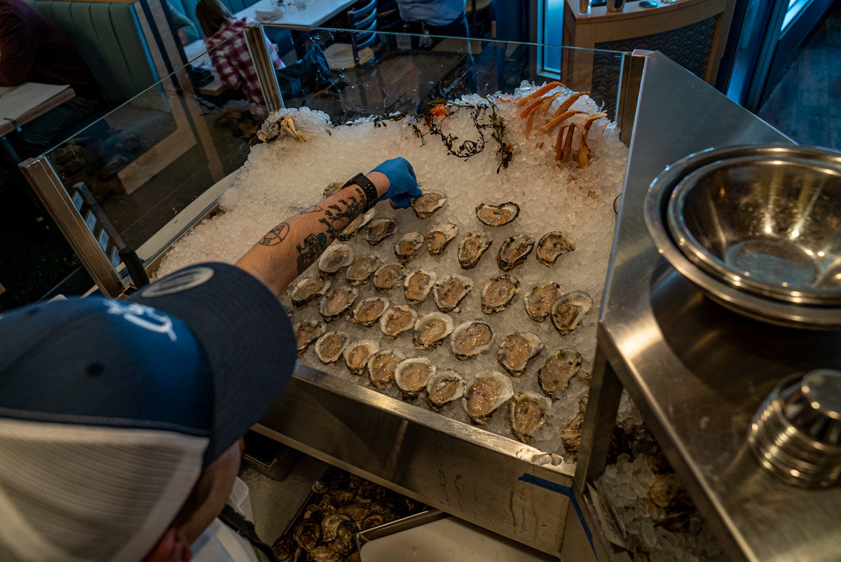 Jax Fish House and Oyster Bar serves oysters from both coasts | Colorado Springs Homes