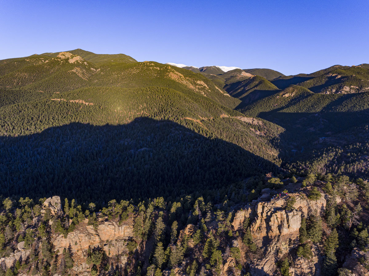 Mount Muscoco North Cheyenne Canon Park | Colorado Springs Real Estate