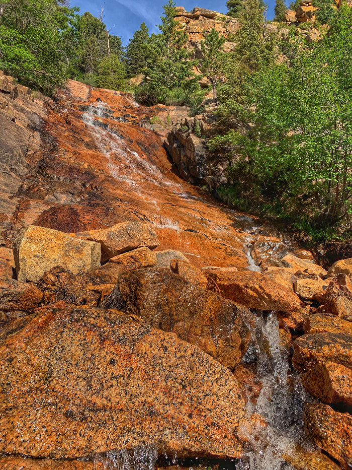 St Marys Falls, North Chyenne Canon | Colorado Springs Real Estate